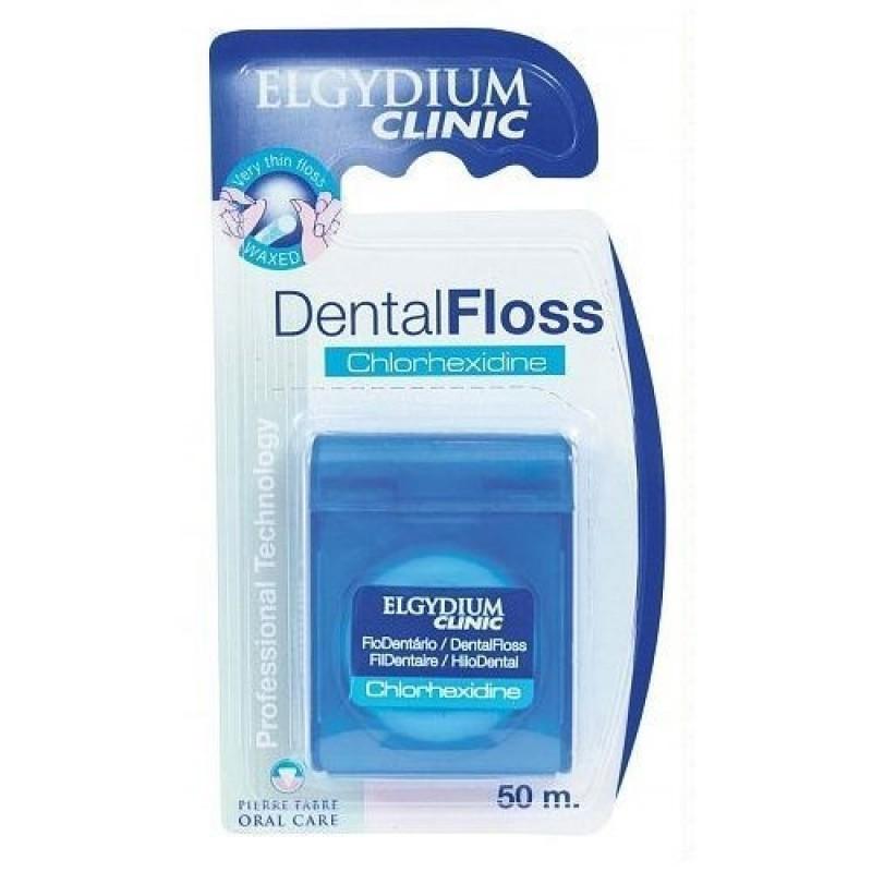 Elgydium Clinic Fio Dentário com Clorohexidina - 50 metros - comprar Elgydium Clinic Fio Dentário com Clorohexidina - 50 metr...