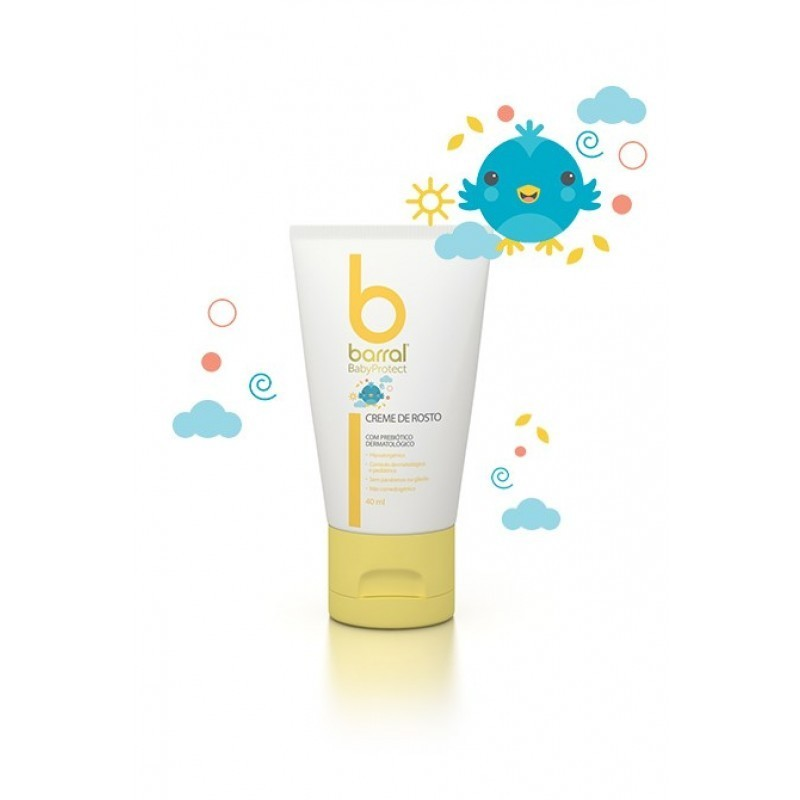 Barral BabyProtect BabyProtect Creme de Rosto - 40 mL - comprar Barral BabyProtect BabyProtect Creme de Rosto - 40 mL online ...