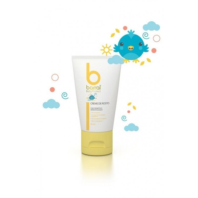 Barral BabyProtect Creme de Rosto - 40mL - comprar Barral BabyProtect Creme de Rosto - 40mL online - Farmácia Barreiros - far...
