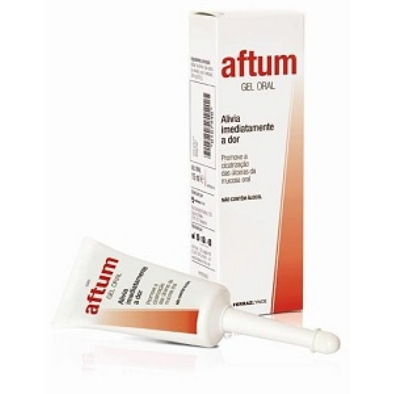 Aftum Gel Oral - 15 mL - comprar Aftum Gel Oral - 15 mL online - Farmácia Barreiros - farmácia de serviço