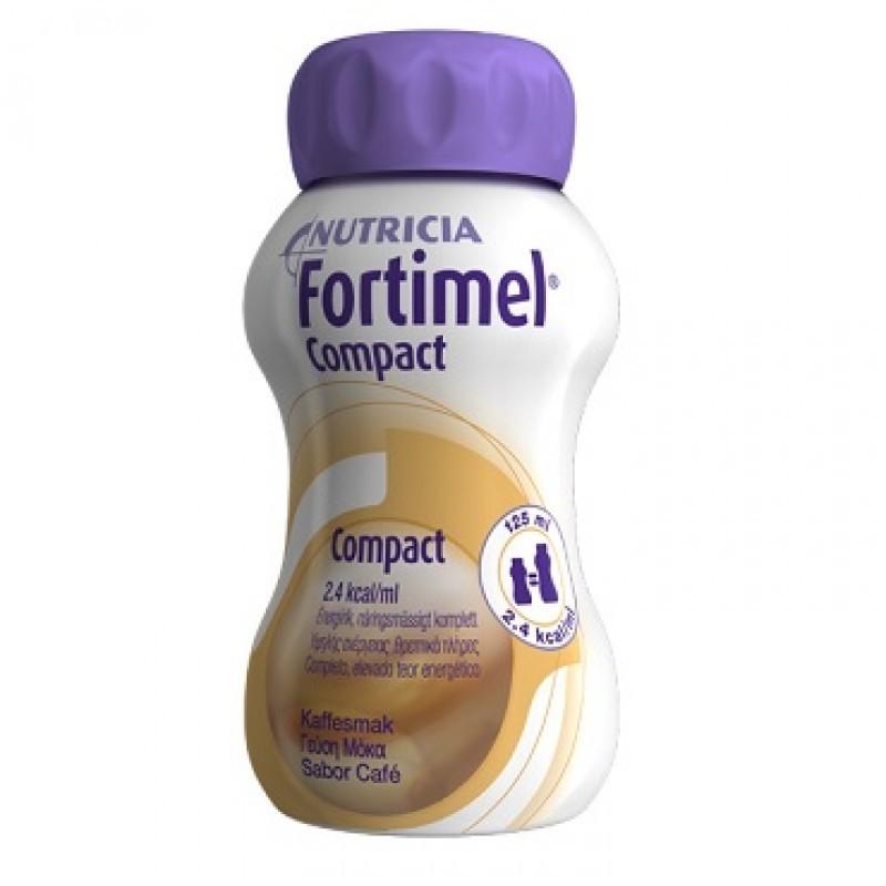 Fortimel Compact Café - 4 x 125 mL - comprar Fortimel Compact Café - 4 x 125 mL online - Farmácia Barreiros - farmácia de ser...