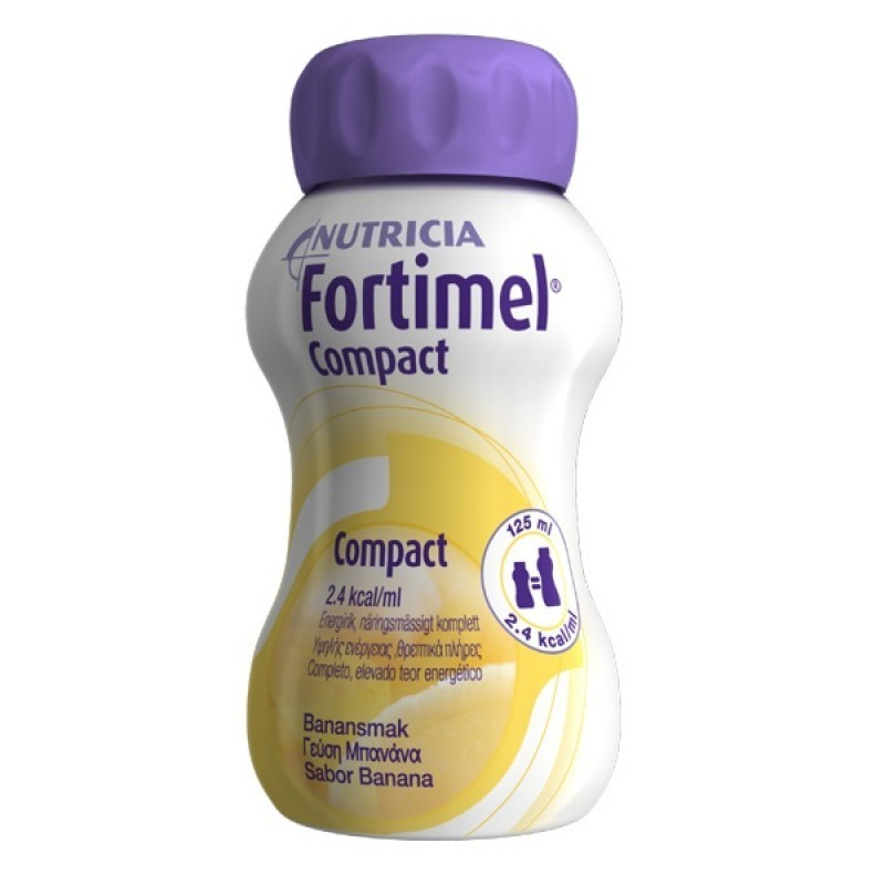 Fortimel Compact Banana - 4 x 125 mL - comprar Fortimel Compact Banana - 4 x 125 mL online - Farmácia Barreiros - farmácia de...