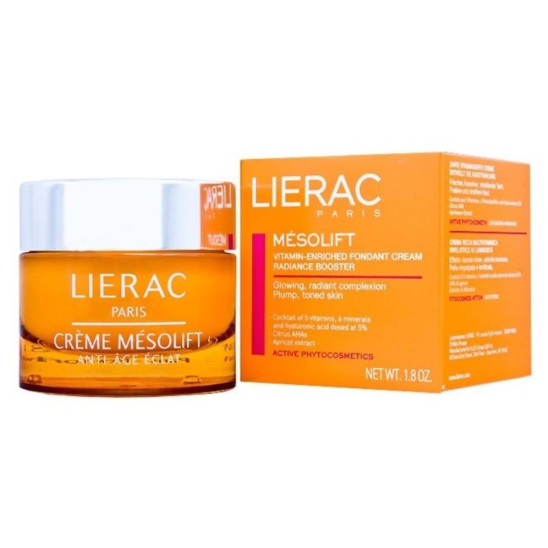Lierac Mésolift Creme - 50 mL - comprar Lierac Mésolift Creme - 50 mL online - Farmácia Barreiros - farmácia de serviço