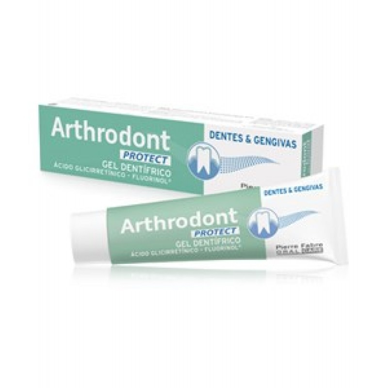 Arthrodont Protect Gel Dentífrico - 75 mL - comprar Arthrodont Protect Gel Dentífrico - 75 mL online - Farmácia Barreiros - f...