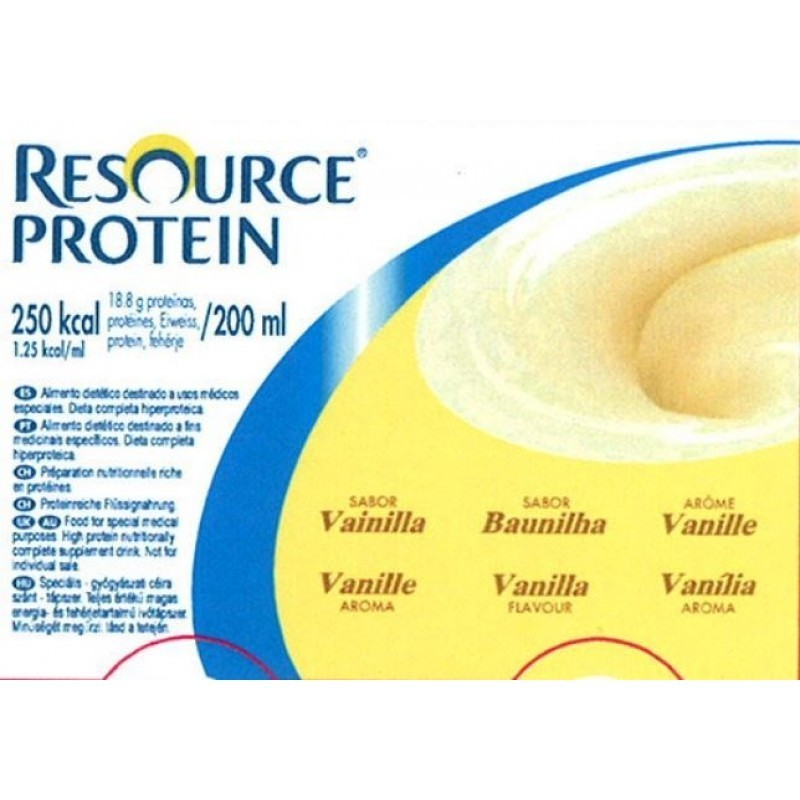 Resource Protein Baunilha - 4 x 200 mL - comprar Resource Protein Baunilha - 4 x 200 mL online - Farmácia Barreiros - farmáci...