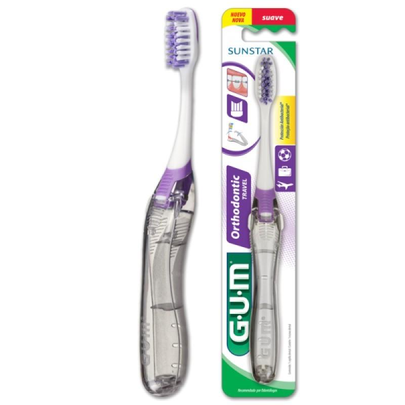 Gum Ortho Escova Dentes Viagem 125 - 1 escova de dentes - comprar Gum Ortho Escova Dentes Viagem 125 - 1 escova de dentes onl...