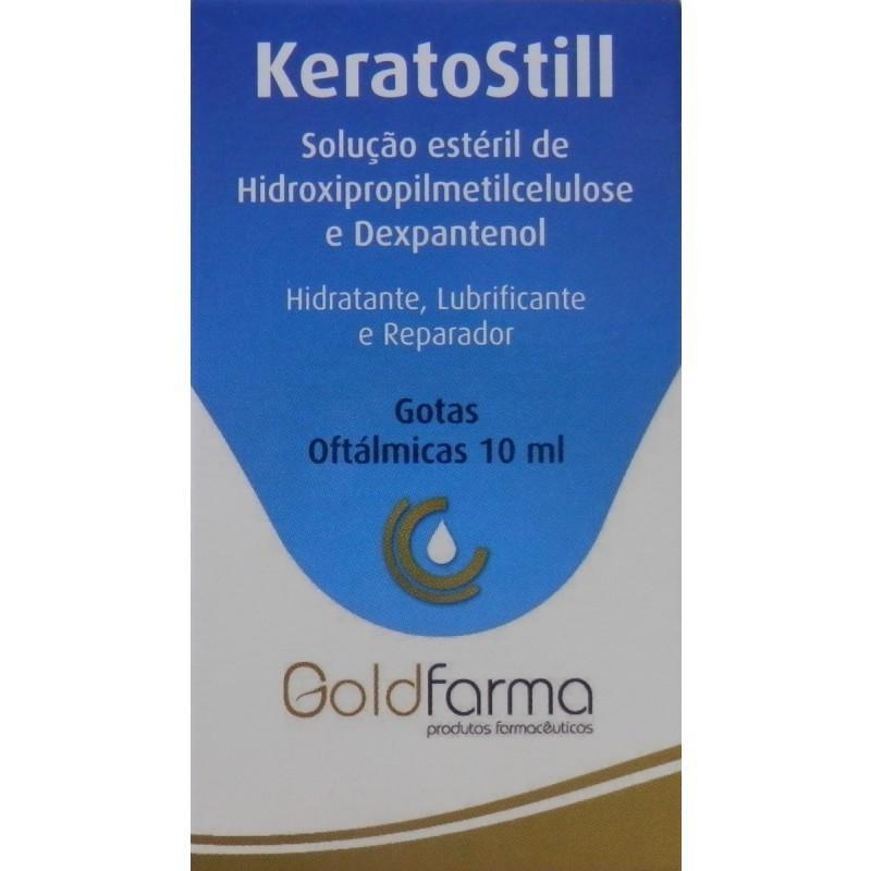 KeratoStill Gotas Oftálmicas - 10 mL - comprar KeratoStill Gotas Oftálmicas - 10 mL online - Farmácia Barreiros - farmácia de...
