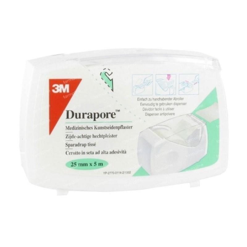 Durapore Adesivo - 1 unidade (25 mm X 5 m) - comprar Durapore Adesivo - 1 unidade (25 mm X 5 m) online - Farmácia Barreiros -...