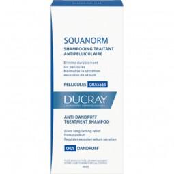 Ducray Squanorm Champô Caspa Oleosa - 200 mL - comprar Ducray Squanorm Champô Caspa Oleosa - 200 mL online - Farmácia Barreir...