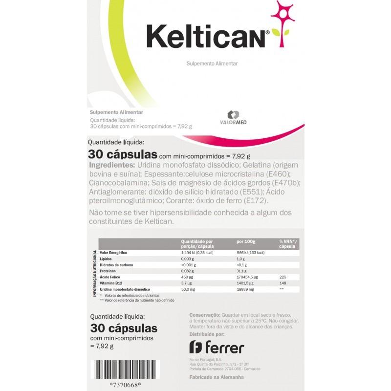 Keltican - 30 cápsulas - comprar Keltican - 30 cápsulas online - Farmácia Barreiros - farmácia de serviço