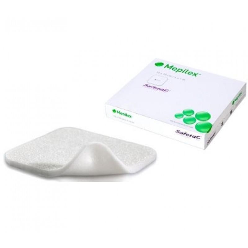 Mepilex Penso Espuma - 5 pensos (10 x 10 cm) - comprar Mepilex Penso Espuma - 5 pensos (10 x 10 cm) online - Farmácia Barreir...