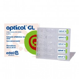 Opticol GL Solução Oftálmica MD - 30 monodoses x 0,35 mL - comprar Opticol GL Solução Oftálmica MD - 30 monodoses x 0,35 mL o...