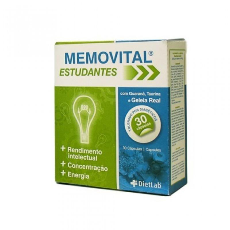 Memovital Estudantes Cápsulas - 30 cápsulas - comprar Memovital Estudantes Cápsulas - 30 cápsulas online - Farmácia Barreiros...