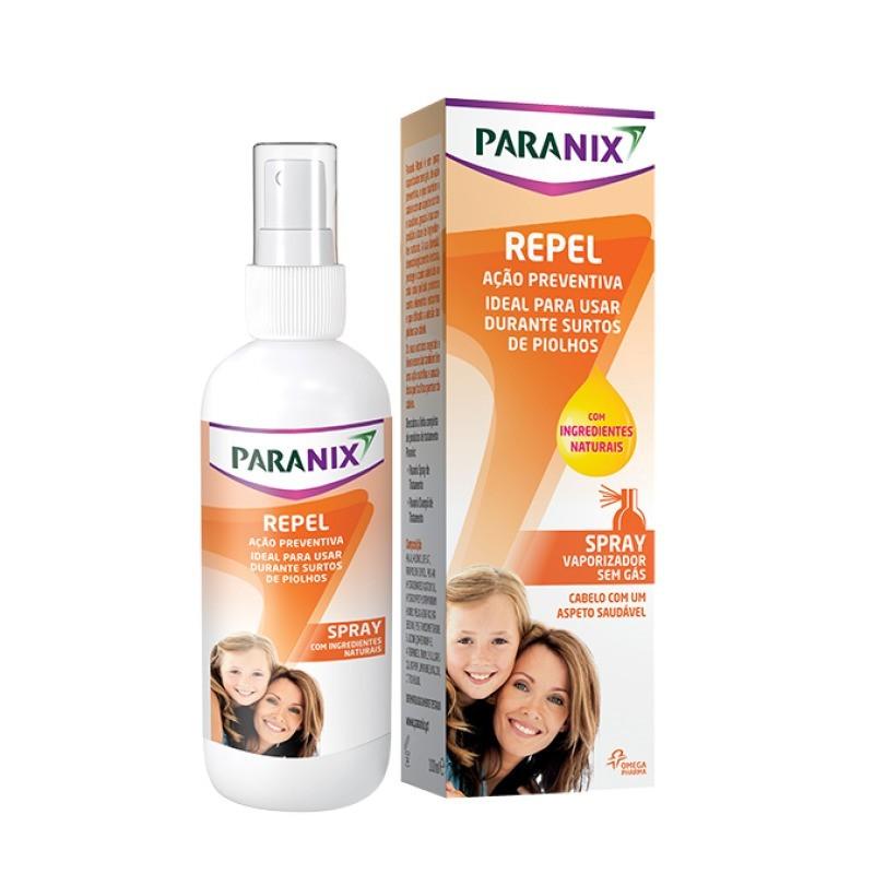 Paranix Repel Spray - 100 mL - comprar Paranix Repel Spray - 100 mL online - Farmácia Barreiros - farmácia de serviço