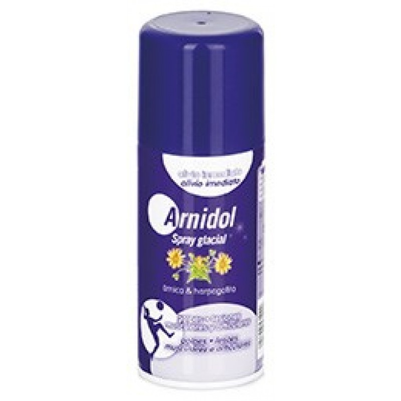 Arnidol Spray Glacial - 150 mL - comprar Arnidol Spray Glacial - 150 mL online - Farmácia Barreiros - farmácia de serviço