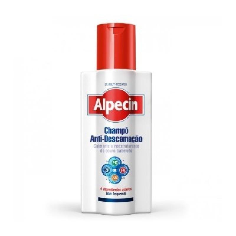Alpecin Champô Anti-Descamação - 250 mL - comprar Alpecin Champô Anti-Descamação - 250 mL online - Farmácia Barreiros - farmá...