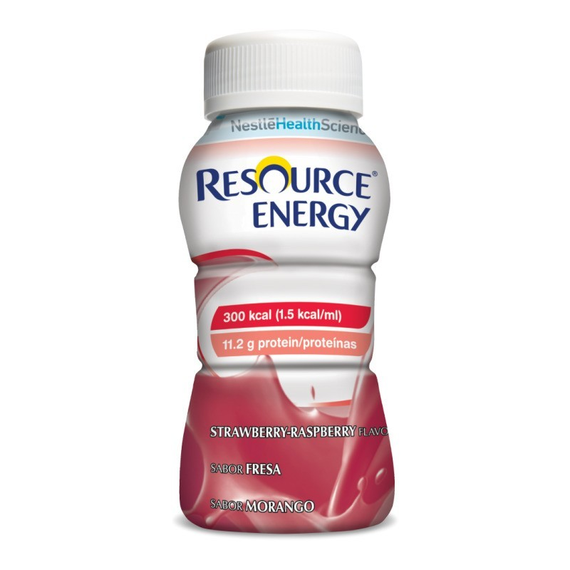 Resource Energy Morango - 4 x 200 mL - comprar Resource Energy Morango - 4 x 200 mL online - Farmácia Barreiros - farmácia de...