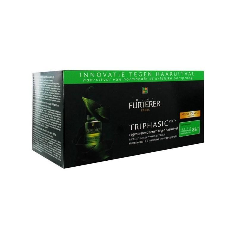 René Furterer Triphasic Soro Regenerador Antiqueda - 8 frascos - comprar René Furterer Triphasic Soro Regenerador Antiqueda -...
