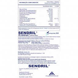 Sendril - 30 cápsulas moles - comprar Sendril - 30 cápsulas moles online - Farmácia Barreiros - farmácia de serviço