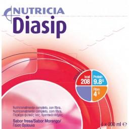 Diasip Morango - 4 x 200 mL - comprar Diasip Morango - 4 x 200 mL online - Farmácia Barreiros - farmácia de serviço