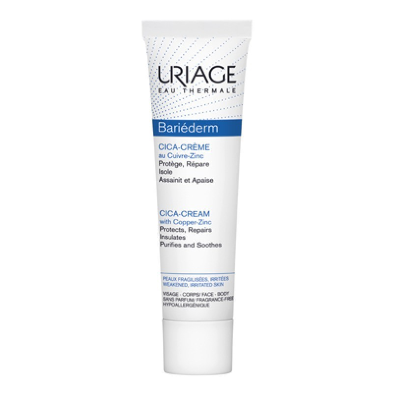 Uriage Bariéderm Cica-Creme - 100 mL - comprar Uriage Bariéderm Cica-Creme - 100 mL online - Farmácia Barreiros - farmácia de...