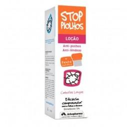 Stop Piolhos Loção Anti-Parasitária Cabelos Longos c/ Pente Metálico - 100 mL + 1 pente - comprar Stop Piolhos Loção Anti-Par...
