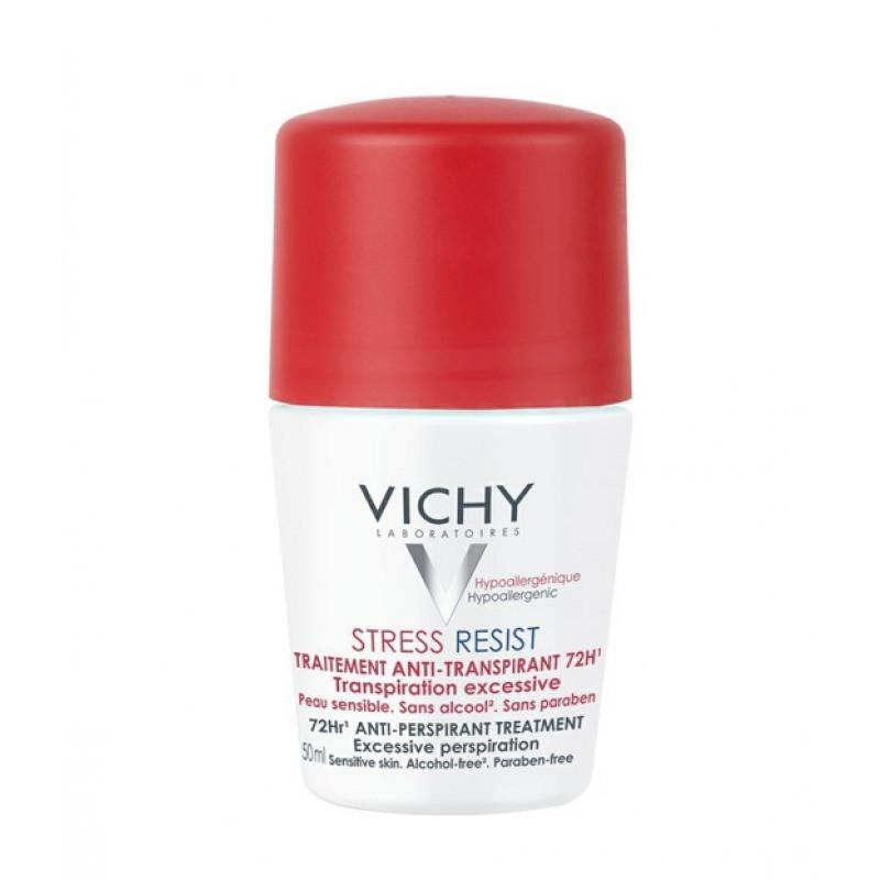 Vichy Desodorizante Roll-On Antitranspirante 72H Stress Resist - 50 mL - comprar Vichy Desodorizante Roll-On Antitranspirante...