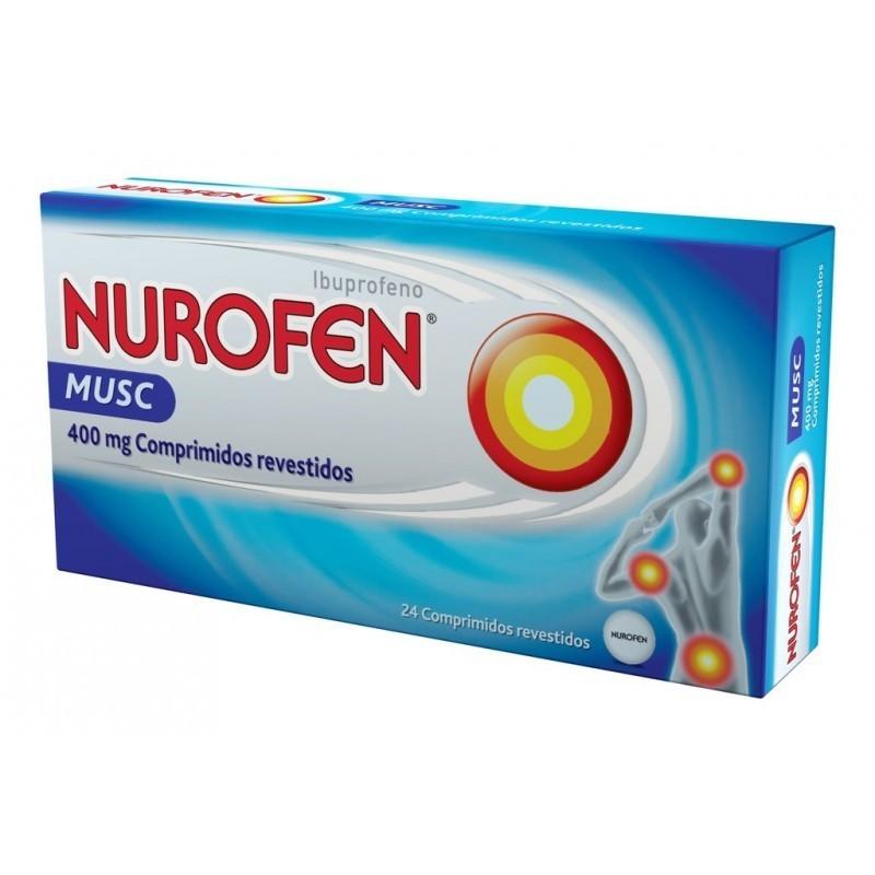 Nurofen Musc - 400 mg - comprar Nurofen Musc - 400 mg online - Farmácia Barreiros - farmácia de serviço