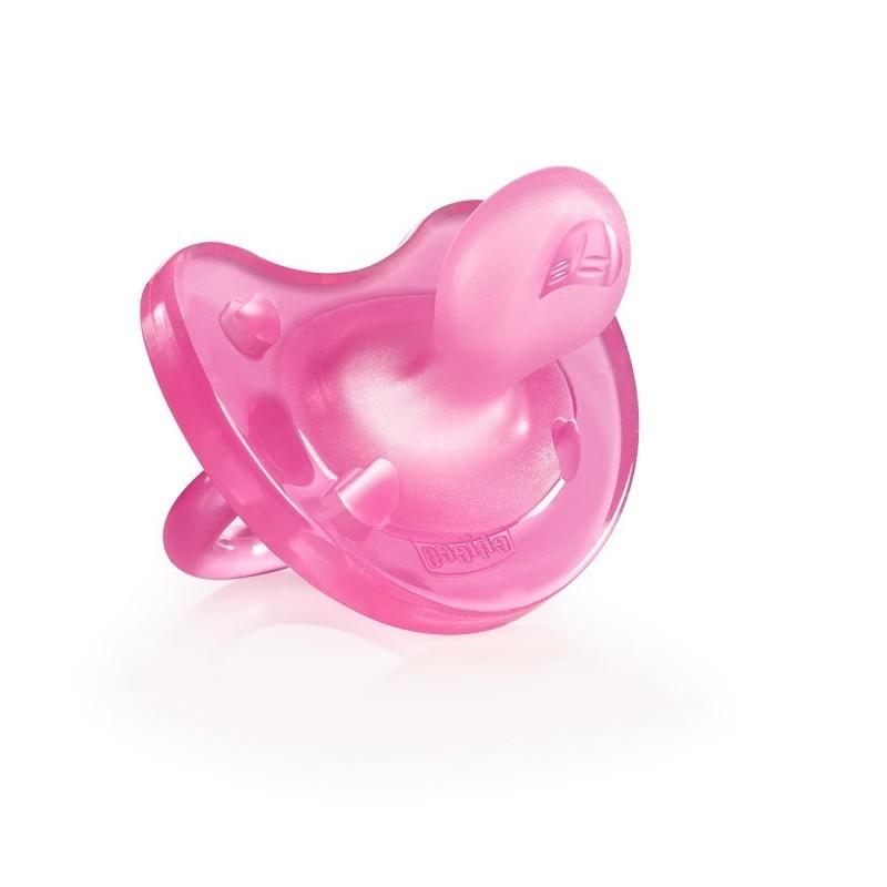 Chicco Physio Soft Chupeta Silicone Rosa 0-6M - 1 chupeta - comprar Chicco Physio Soft Chupeta Silicone Rosa 0-6M - 1 chupeta...