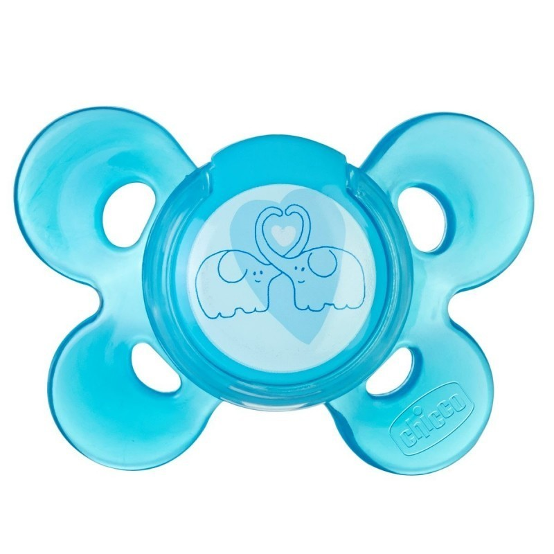 Chicco Physio Comfort Chupeta Látex Azul 6-12M - 1 chupeta - comprar Chicco Physio Comfort Chupeta Látex Azul 6-12M - 1 chupe...