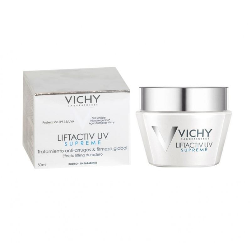 Vichy Liftactiv Supreme UV Cuidado Corretor Antirrugas e Firmeza - 50 mL - comprar Vichy Liftactiv Supreme UV Cuidado Correto...