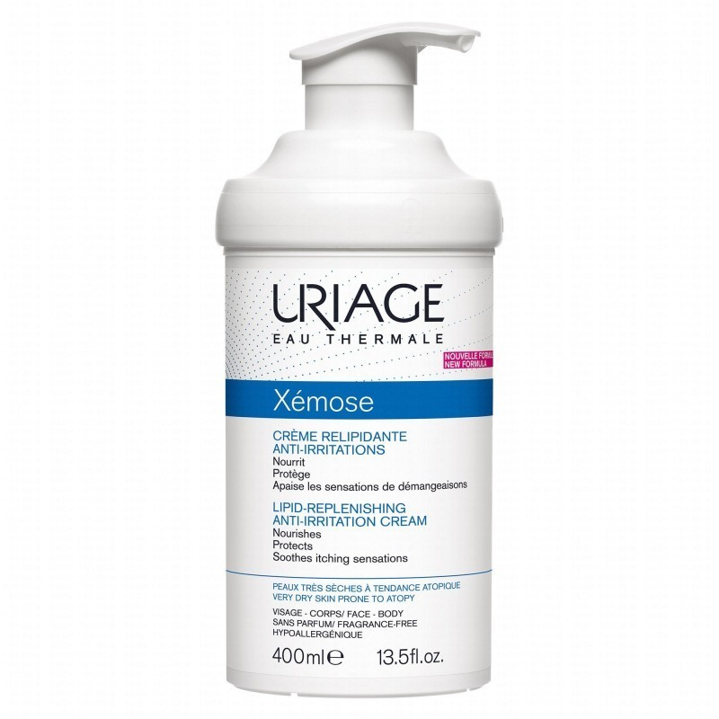 Uriage Xémose Creme Emoliente - 400 mL - comprar Uriage Xémose Creme Emoliente - 400 mL online - Farmácia Barreiros - farmáci...