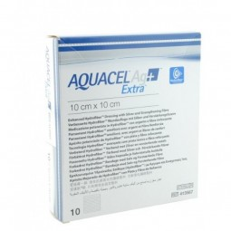 Aquacel Ag+ Extra Penso Estéril - 5 pensos (15 cm x 15 cm) - comprar Aquacel Ag+ Extra Penso Estéril - 5 pensos (15 cm x 15 c...