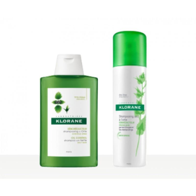 Klorane Champô Seco de Ortiga - 50 mL - comprar Klorane Champô Seco de Ortiga - 50 mL online - Farmácia Barreiros - farmácia ...