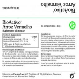 Bioactivo Arroz Vermelho - 60 comprimidos - comprar Bioactivo Arroz Vermelho - 60 comprimidos online - Farmácia Barreiros - f...