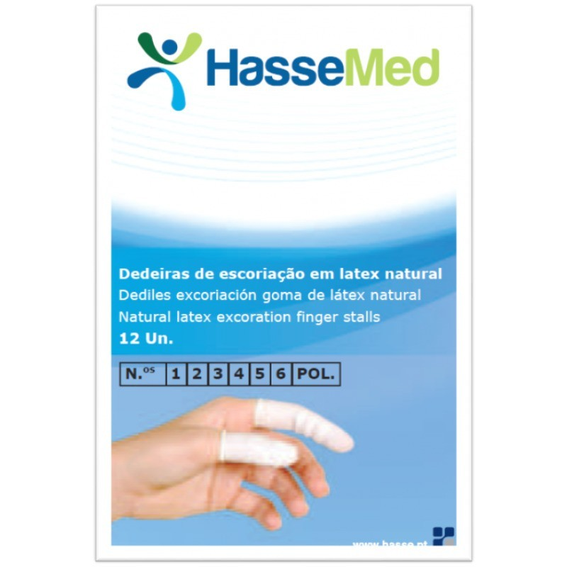 Hasse Dedeira Látex - Tamanho 3 - 1 unidade - comprar Hasse Dedeira Látex - Tamanho 3 - 1 unidade online - Farmácia Barreiros...
