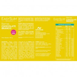 EasySlim Barras Chocolate Branco - 4 x 35 g - comprar EasySlim Barras Chocolate Branco - 4 x 35 g online - Farmácia Barreiros...