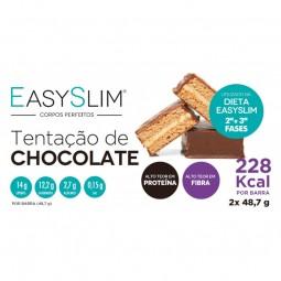 Easyslim Barras Tentação De Chocolate - 2 barras - comprar Easyslim Barras Tentação De Chocolate - 2 barras online - Farmácia...