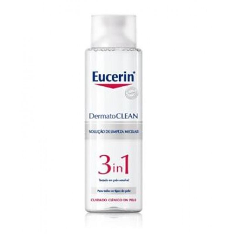 Eucerin DermatoCLEAN Solução Limpeza Micelar 3 em 1 - 200 mL - comprar Eucerin DermatoCLEAN Solução Limpeza Micelar 3 em 1 - ...