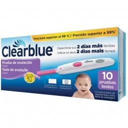 Clearblue Digital Teste de Ovulação - 10 tiras de teste - comprar Clearblue Digital Teste de Ovulação - 10 tiras de teste onl...