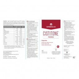 Cistitone Ferro Suplemento Alimentar - 60 cápsulas - comprar Cistitone Ferro Suplemento Alimentar - 60 cápsulas online - Farm...