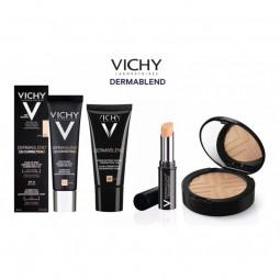 Vichy Dermablend 3D Correction - Base Fluída Corretora Alisadora 16H Tom 25 - 30 mL - comprar Vichy Dermablend 3D Correction ...