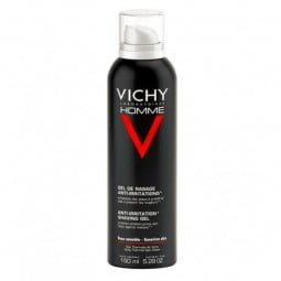 Vichy Homme Gel de Barbear Anti-Irritações - 150 mL - comprar Vichy Homme Gel de Barbear Anti-Irritações - 150 mL online - Fa...