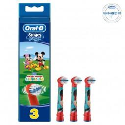 Oral-B Stages Mickey Recarga Escova Elétrica - 1 cabeça de substituição - comprar Oral-B Stages Mickey Recarga Escova Elétric...