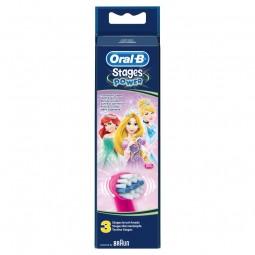 Oral-B Stages Princesas Recarga Escova Elétrica - 1 cabeça de substituição - comprar Oral-B Stages Princesas Recarga Escova E...