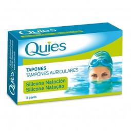 Quies Tampões Auriculares Silicone Adulto - 6 tampões auriculares - comprar Quies Tampões Auriculares Silicone Adulto - 6 tam...