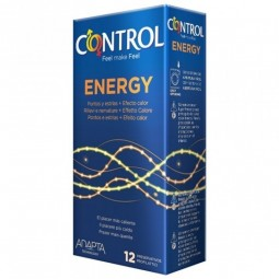 Control Energy Preservativos - 12 preservativos - comprar Control Energy Preservativos - 12 preservativos online - Farmácia B...