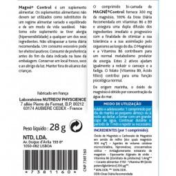 Nutreov Magné Control - 30 comprimidos - comprar Nutreov Magné Control - 30 comprimidos online - Farmácia Barreiros - farmáci...