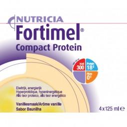 Fortimel Compact Protein Baunilha - 4 x 125 mL - comprar Fortimel Compact Protein Baunilha - 4 x 125 mL online - Farmácia Bar...
