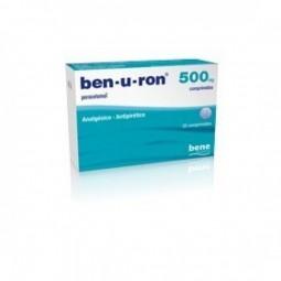 Ben-U-Ron 500 mg - 20 comprimidos - comprar Ben-U-Ron 500 mg - 20 comprimidos online - Farmácia Barreiros - farmácia de serviço